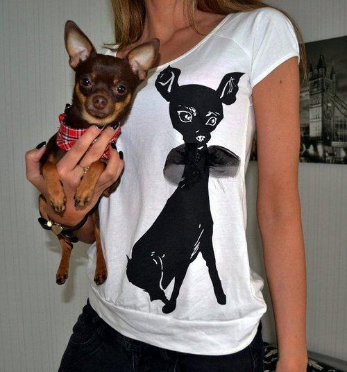 cachorro feio camiseta