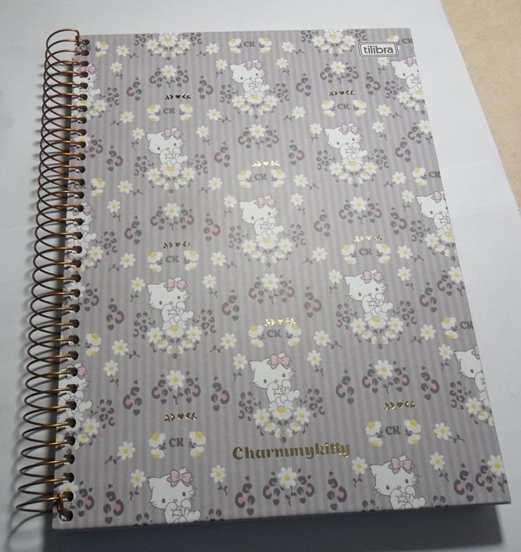 caderno novo capa