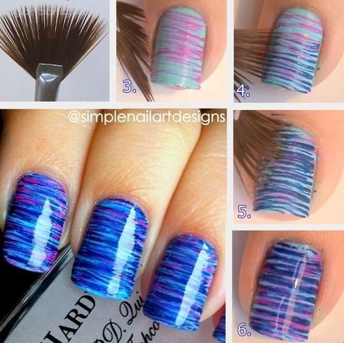 nail art pincel vassourinha