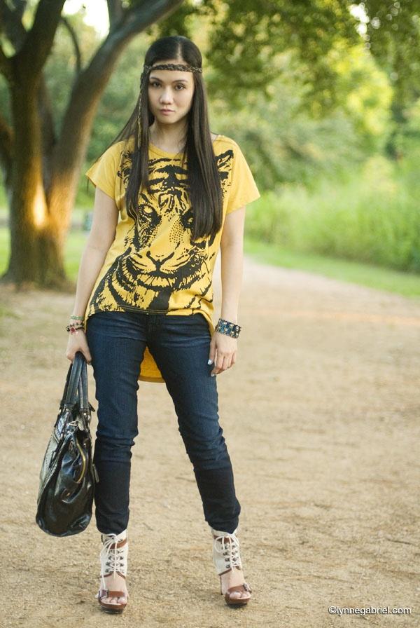 tigre amarelo