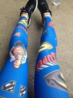 meia calça superman
