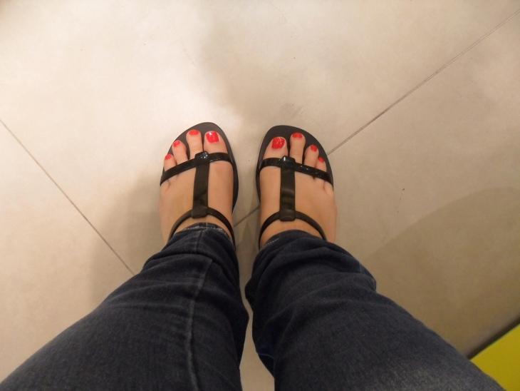 Melissa gueixa pé