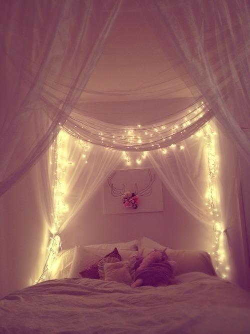 cortina luz natal
