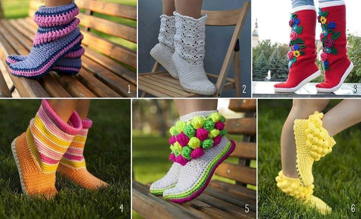 crochet-booties-patterns