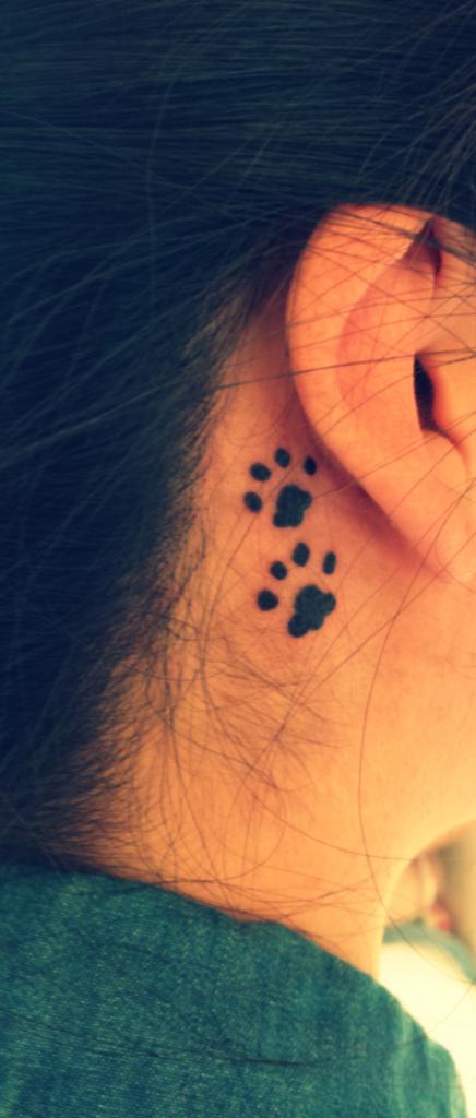 tatuagem patinha