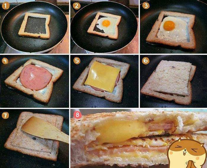 sanduíche quentinho