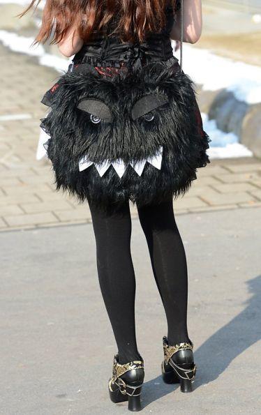 monstro preto