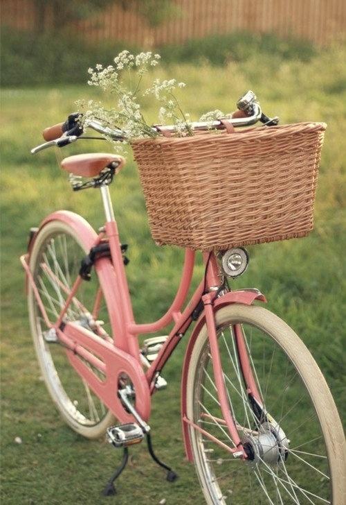 bike rosa clarinho