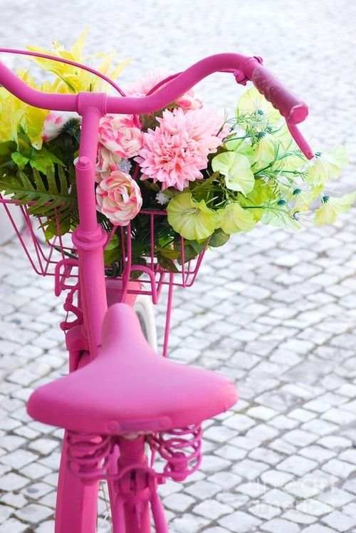 bike toda rosa