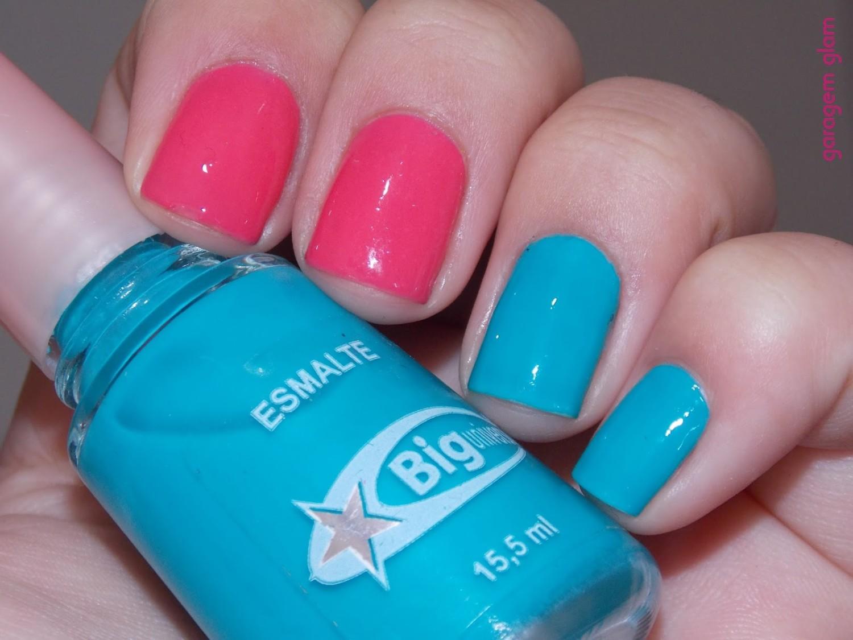 homa azul e rosa