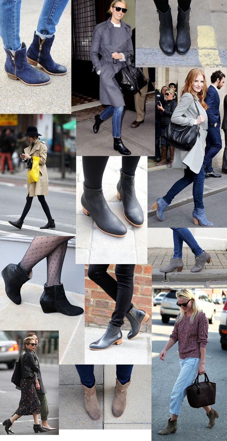 ankle boots mix