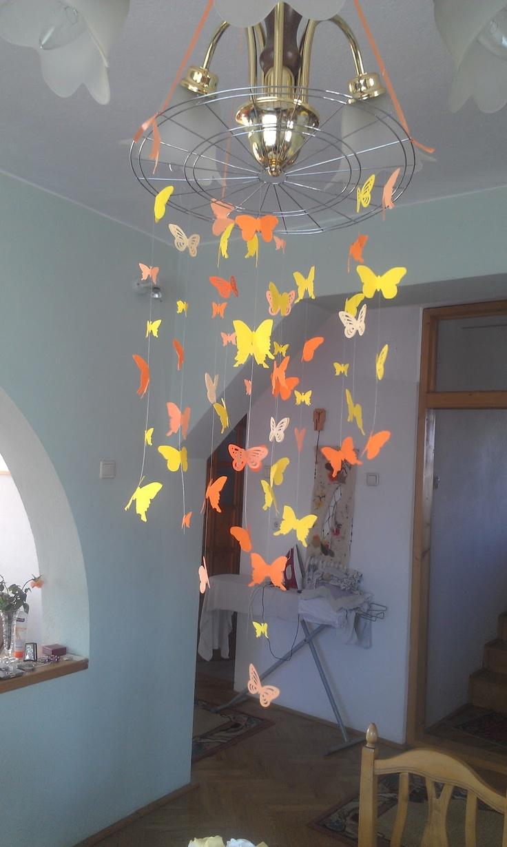 borboletas caídas