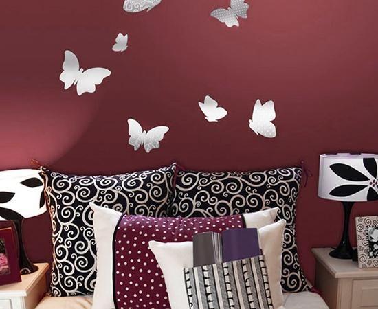 borboletas parede