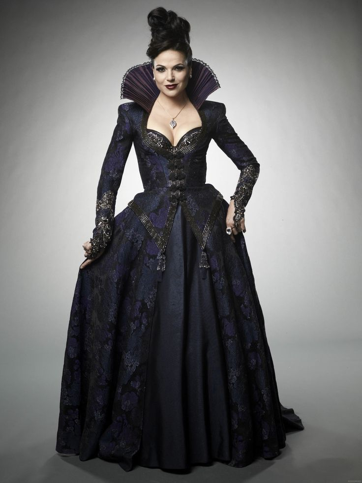 regina vestido preto once upon a time