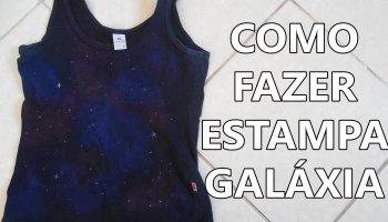 estampa galáxia