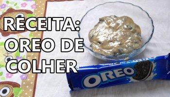 brigadeiro de OREO COLHER CAPA MELHOR