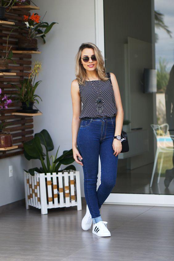 909fb234ca 11 inspirações para você usar Adidas Superstar Branco - Belle Diva