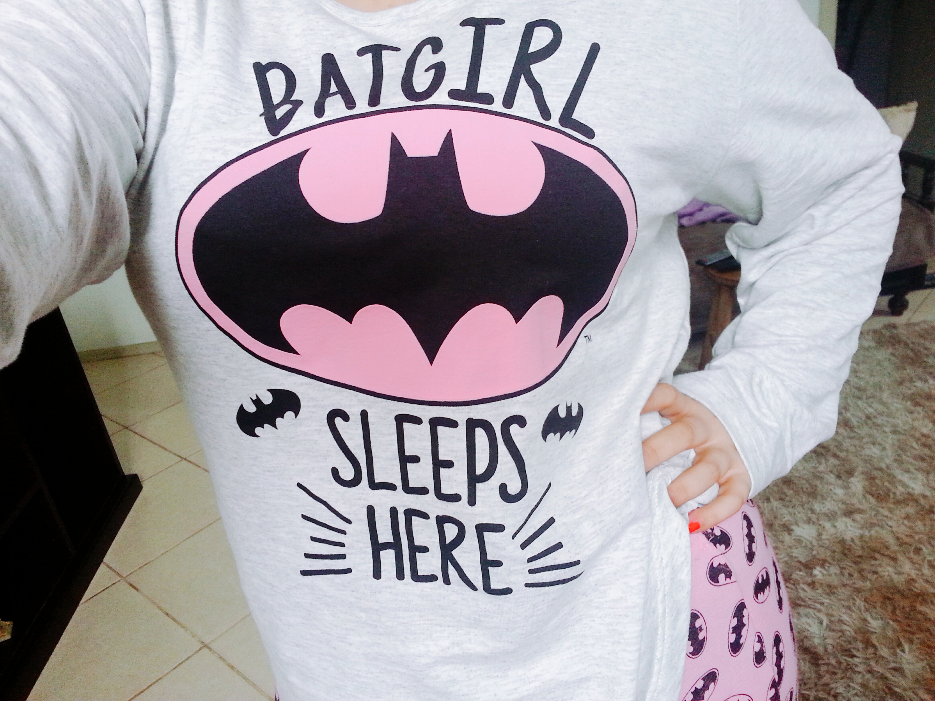 pijama da batgirl