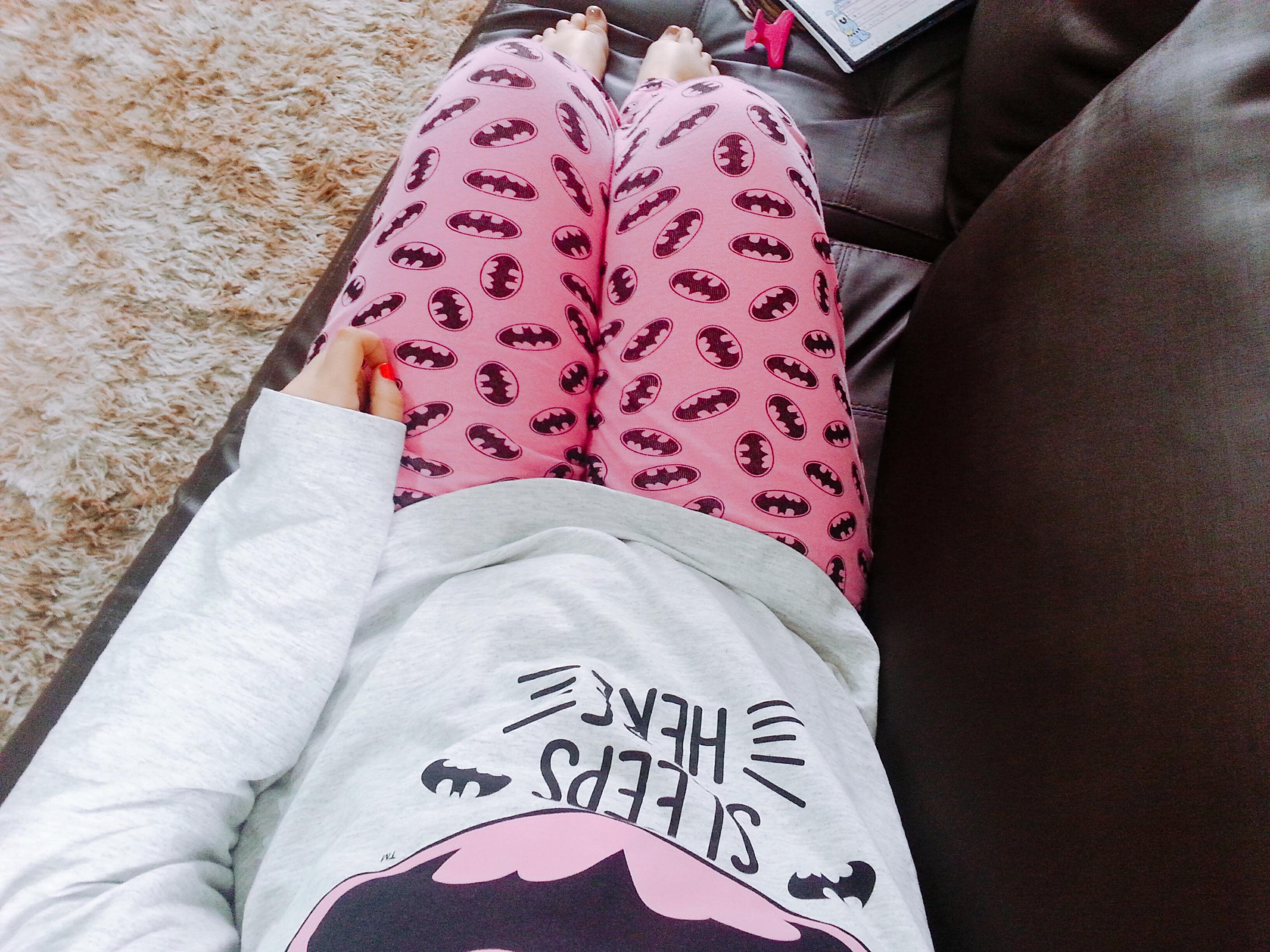 pijama da batgirl corpo