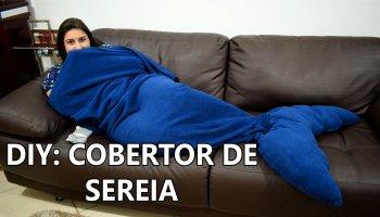 CAPA DIY COBERTOR DE SEREIA