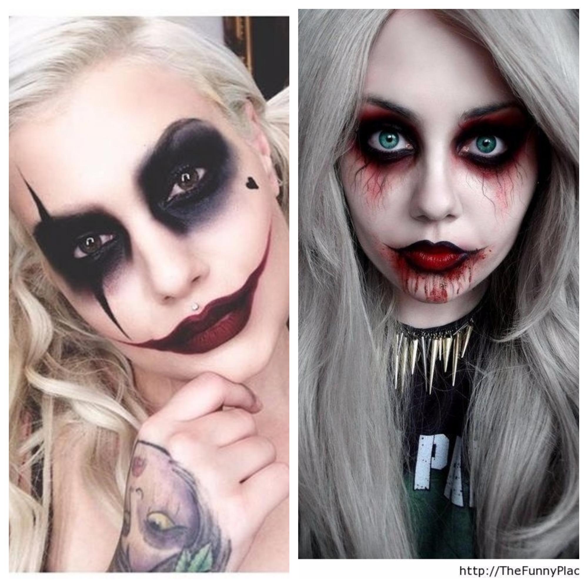 Populares Maquiagens de Halloween fáceis e baratas - Belle Diva GZ39