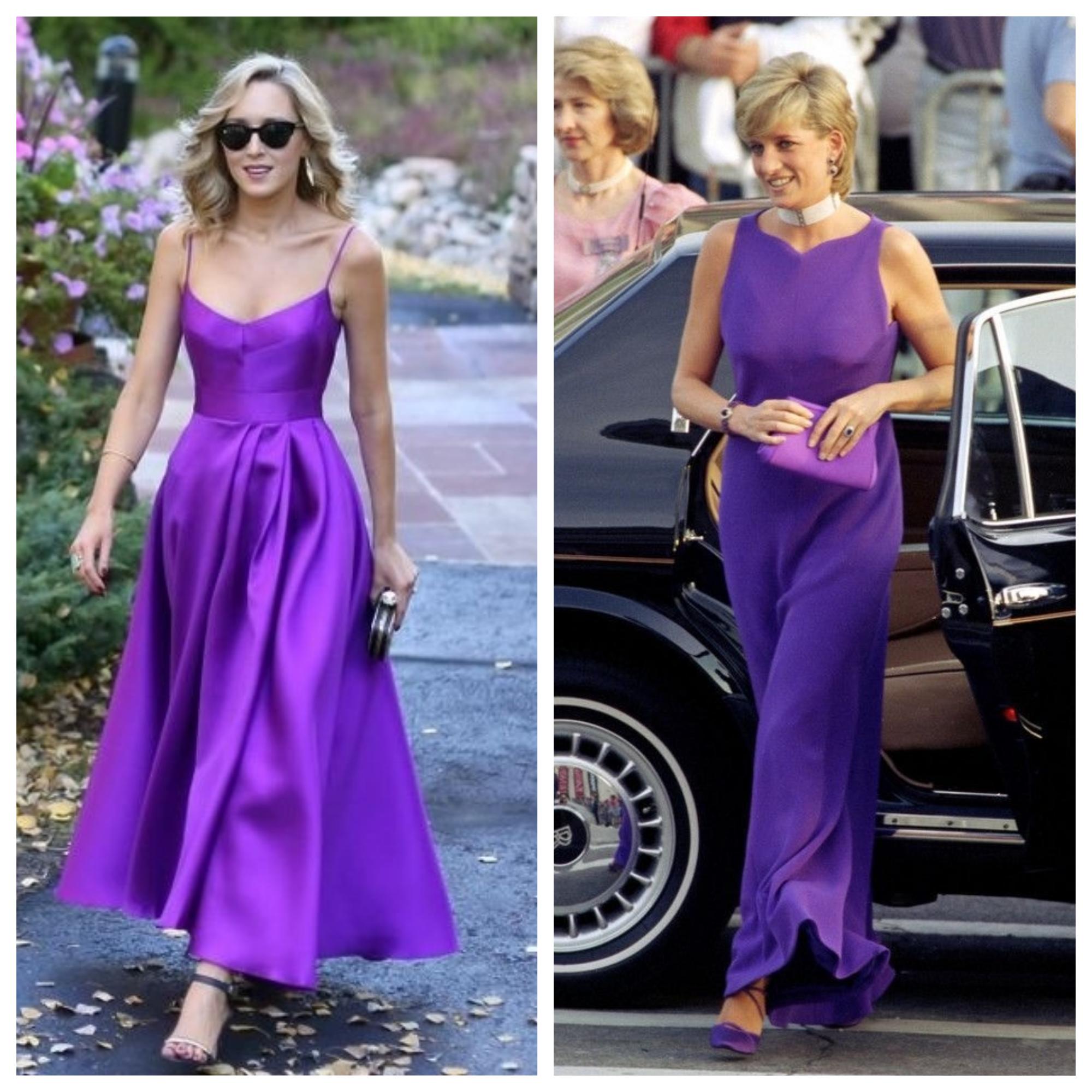 ultra violet vestido