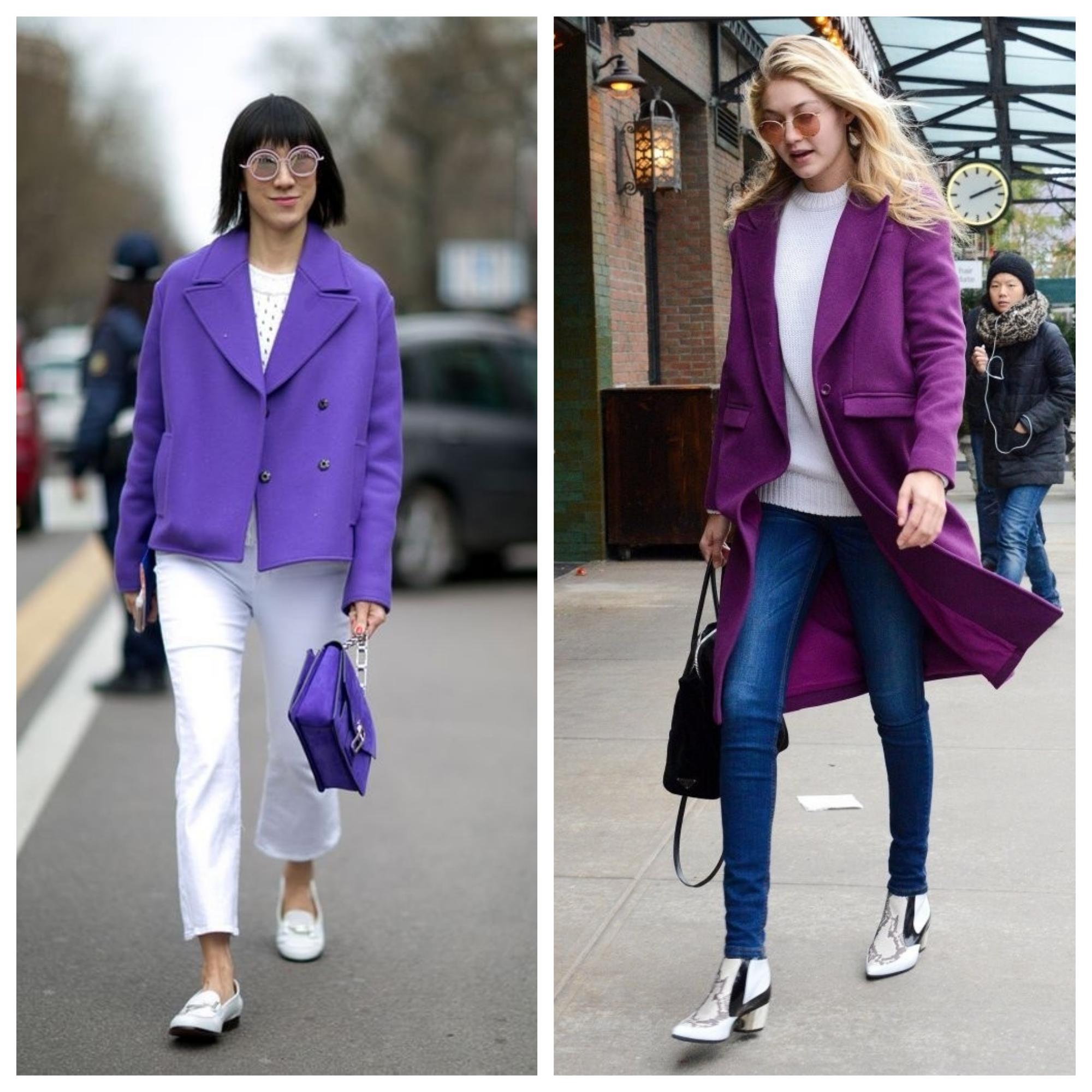 ultra violet casacos